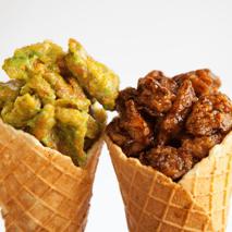 Chicken & Waffle Cone