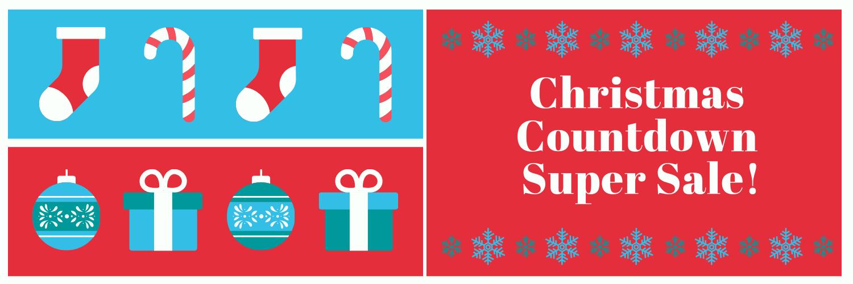 Christmas Countdown Super Sale