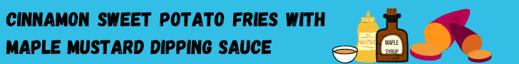 Cinnamon Sweet Tater Fries