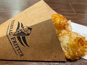 Federal Fritters Packaging
