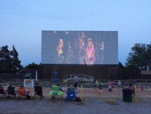 Jimmy Buffet Concert Photo from Chief Drive In - Photo via theatre's facebook page.