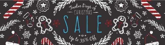 Save with the 12 Days of Christmas Deals