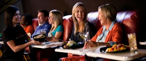 Diners at AMC Dinner in Theater