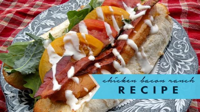 Chicken Bacon Ranch Recipe