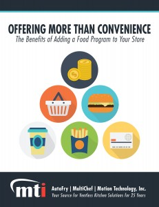 Offering More Than Convenience: Adding a food program to your c-store - White Paper Cover