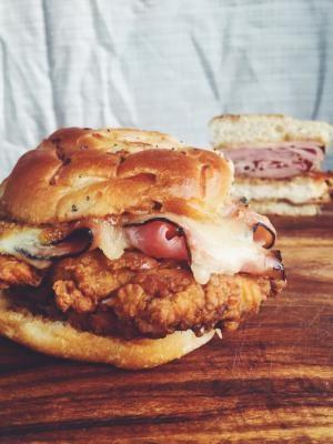 Chicken Cordon Bleu Sandwich - About