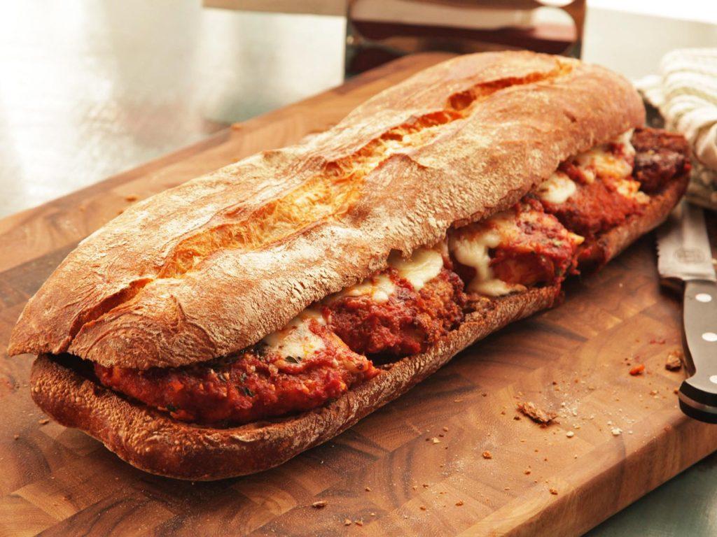 Chicken Parm Sandwich - Serious Eats