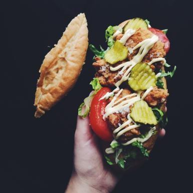 Chicken Po'boy Sandwich - About