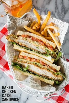 Crispy Chicken Katsu Sando - Just One Cookbook