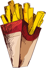 Fries for Cstore Foodservice