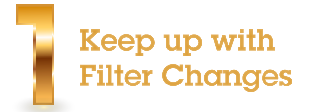 Golden Rule 1 - Keep up with Fryer Filter Changes