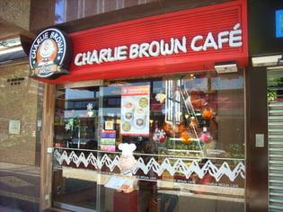 Charlie Brown Pop Up Restaurant