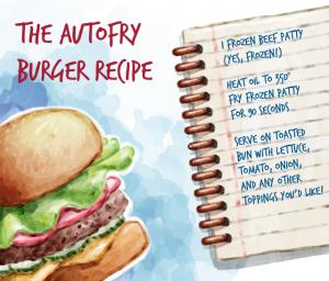 Hamburger History  -  AutoFry Hamburger Recipe