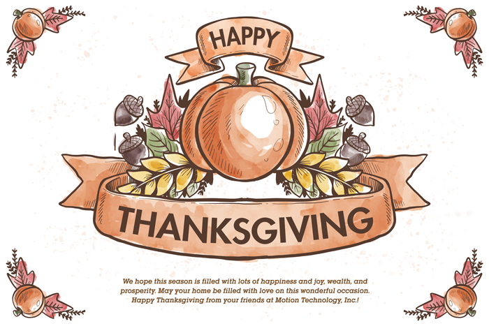 Thanksgiving Wishes from MTI