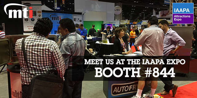 IAAPA Attractions Expo 2016 - Visit Booth 844