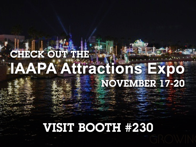 IAAPA Trade Show Promo - Visit Booth 230