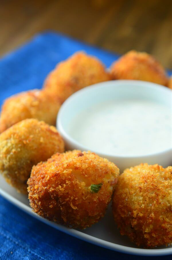 Loaded Potato Bombs from Oh Sweet Basil