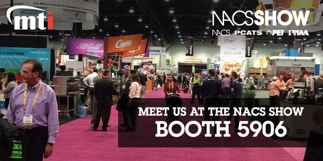 Meet MTI at the 2016 NACS Show