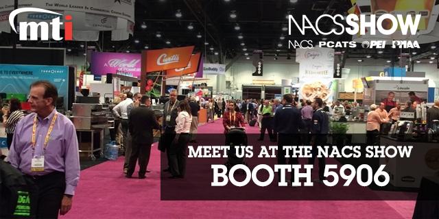 Meet MTI at the 2016 NACS Show