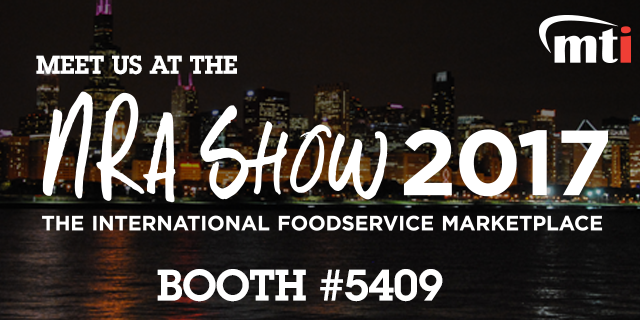 Catch us with AutoFry and MultiChef at the 2017 NRA Show in booth 5409!