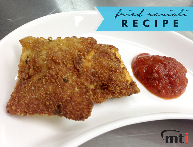 Recipe for Golden Fried Ravioli