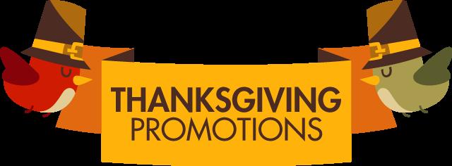 Thanksgiving Promotions for Restaurants