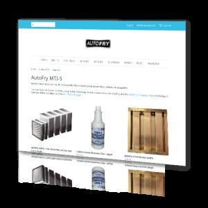 AutoFry Webstore - Screenshot1
