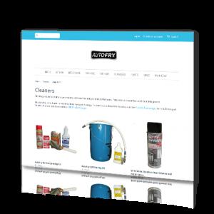 AutoFry Webstore - Screenshot2