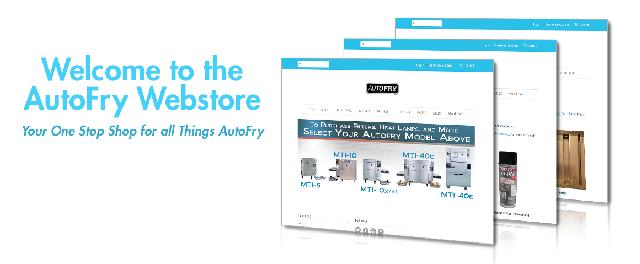 AutoFry Webstore Header