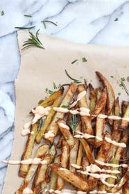 Dancing Through Sunday | Oven Baked Seasoned Fries