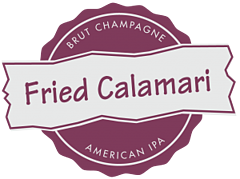Top Six Pairings of Fried Food and Spirits - Fried Calamari Seal