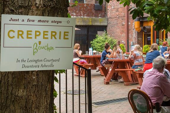 AutoFry in Action: Crêperie Bouchon - Image of Signage