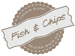 Top Six Pairings of Fried Food and Spirits - Fish and Chips Seal