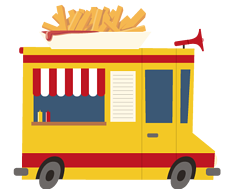 French Fry food truck menu