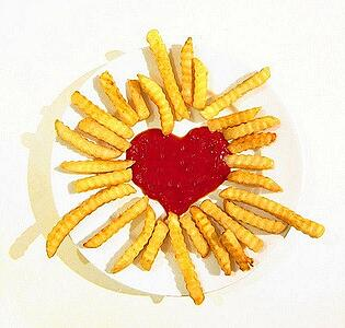 French Fries Smell like Love