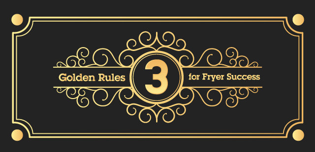3 Golden Rules to Fryer Success