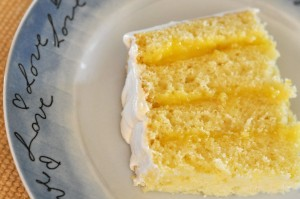 Lemon Cake Paired with Asti Spumonti by Motion Technology