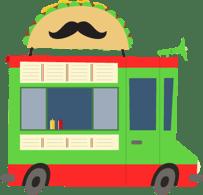 Taco food truck menu