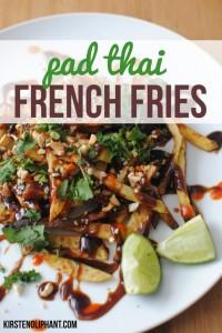 Pad Thai French Fries