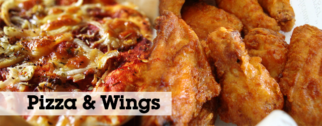 Perfect Pair: Pizza and Chicken Wings prepared in the AutoFry and MultiChef