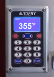 AutoFry Key Pad Ready Screen