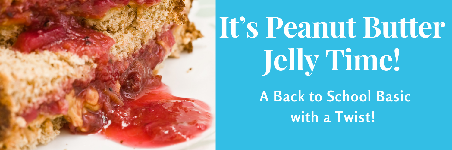 It's Peanut Butter Jelly Time!