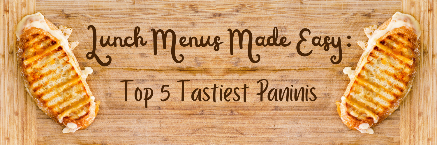 Lunch Menus Made Easy