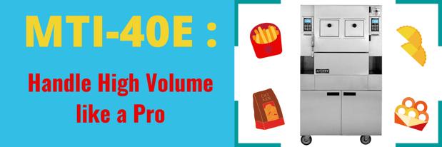 MTI-40E _ Handle High Volume like a Pro !