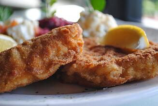 Schnitzel for National Fried Chicken Day