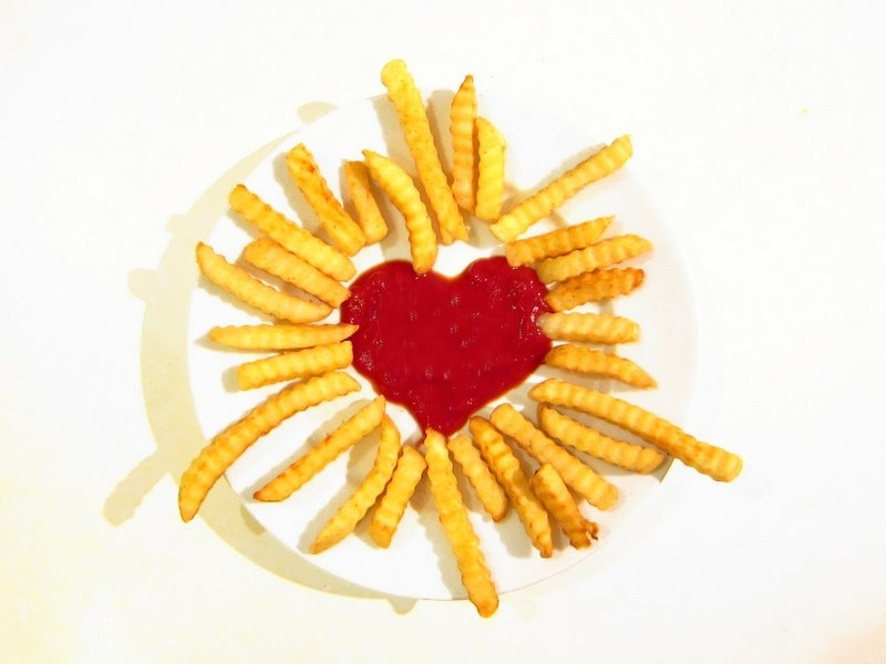 We love french fries