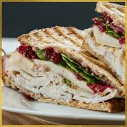 Turkey & Cranberry panini