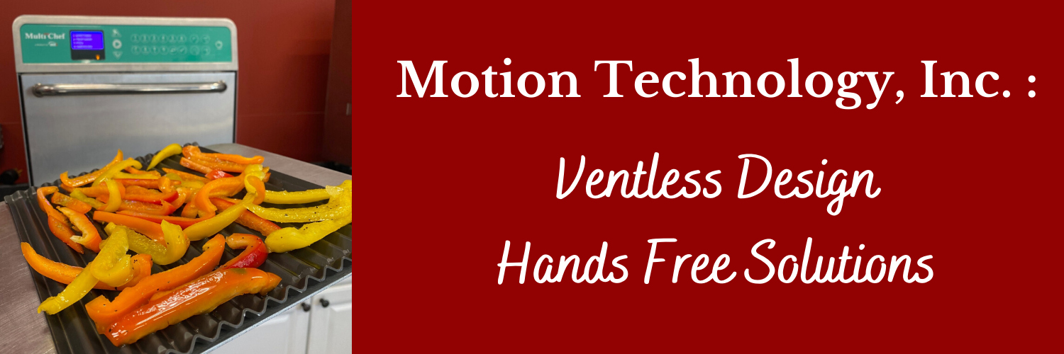 Ventless Design. Hands free solutions