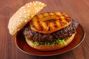 Polynesian Plant-Based Burger