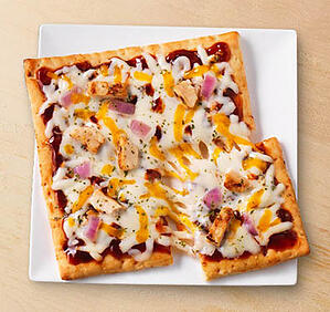 thin crust bbq chicken